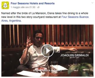 hotel su Facebook
